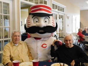 Mr. Redlegs with Bob & Jerri