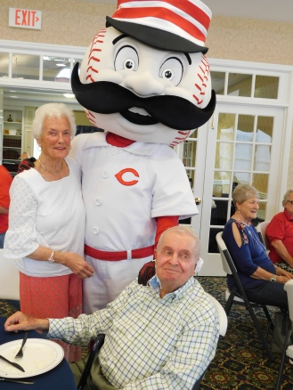 Mr. Redlegs with Kate & Joe